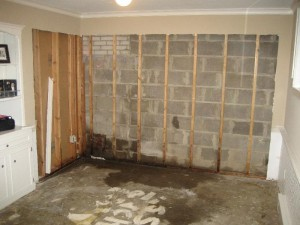 Basement water damage to your home.