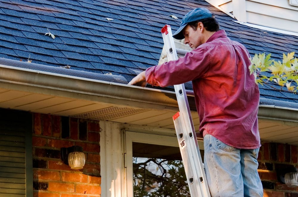 Fall Maintenance Tips: Cleaning your gutters prevents water and ice damage