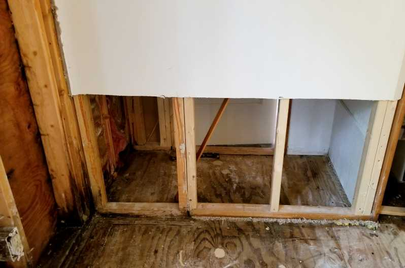 How To Dry Out Walls After Water Damage Wet Drywall Repair
