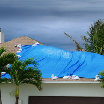 is storm damage covered by insurance - storm damaged home