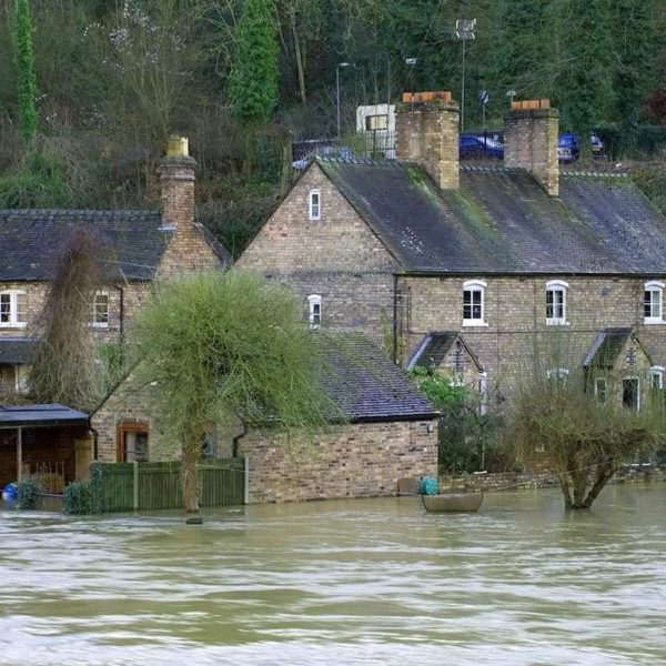 flooding causes outside water damage