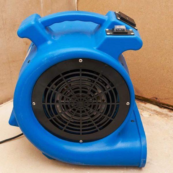 water damage fan