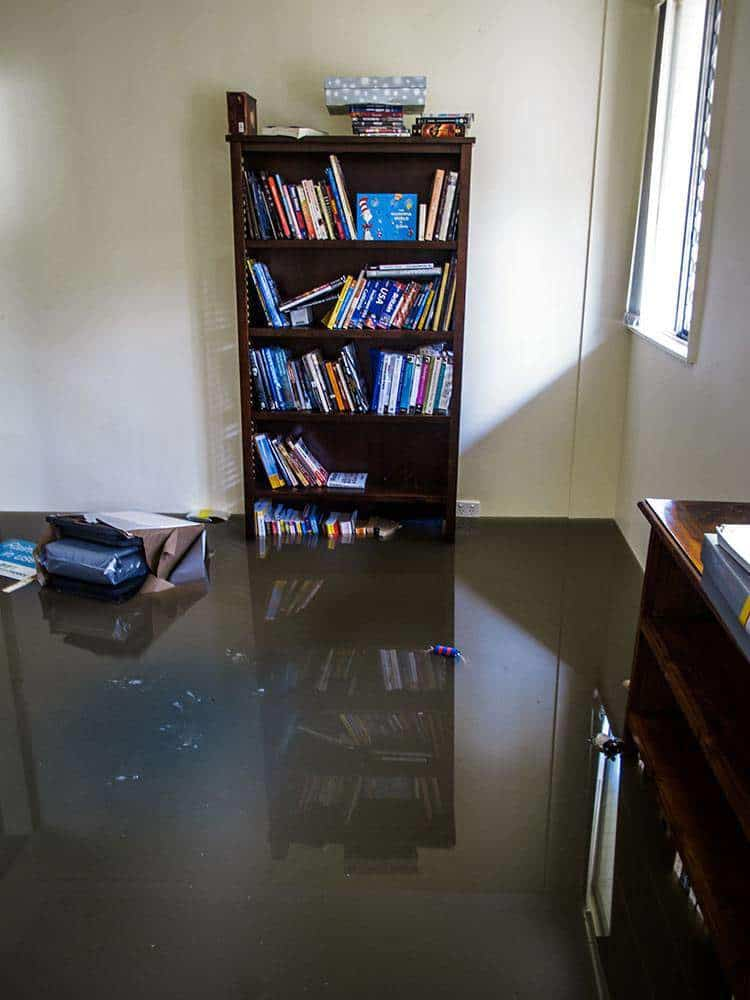 floods cause office water damage in Schlegal, OK