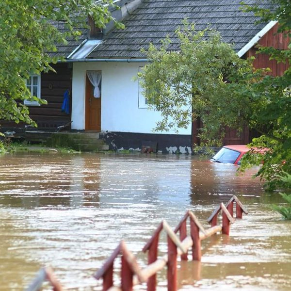 water damage caused by flood